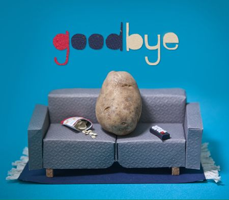 goodbye couch potato