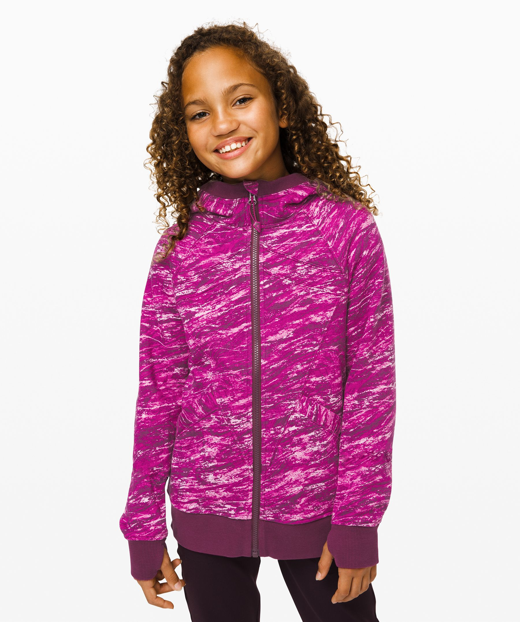 For tournaments,  post-practice, and all her  field-trips, this hoodie is  her everything.