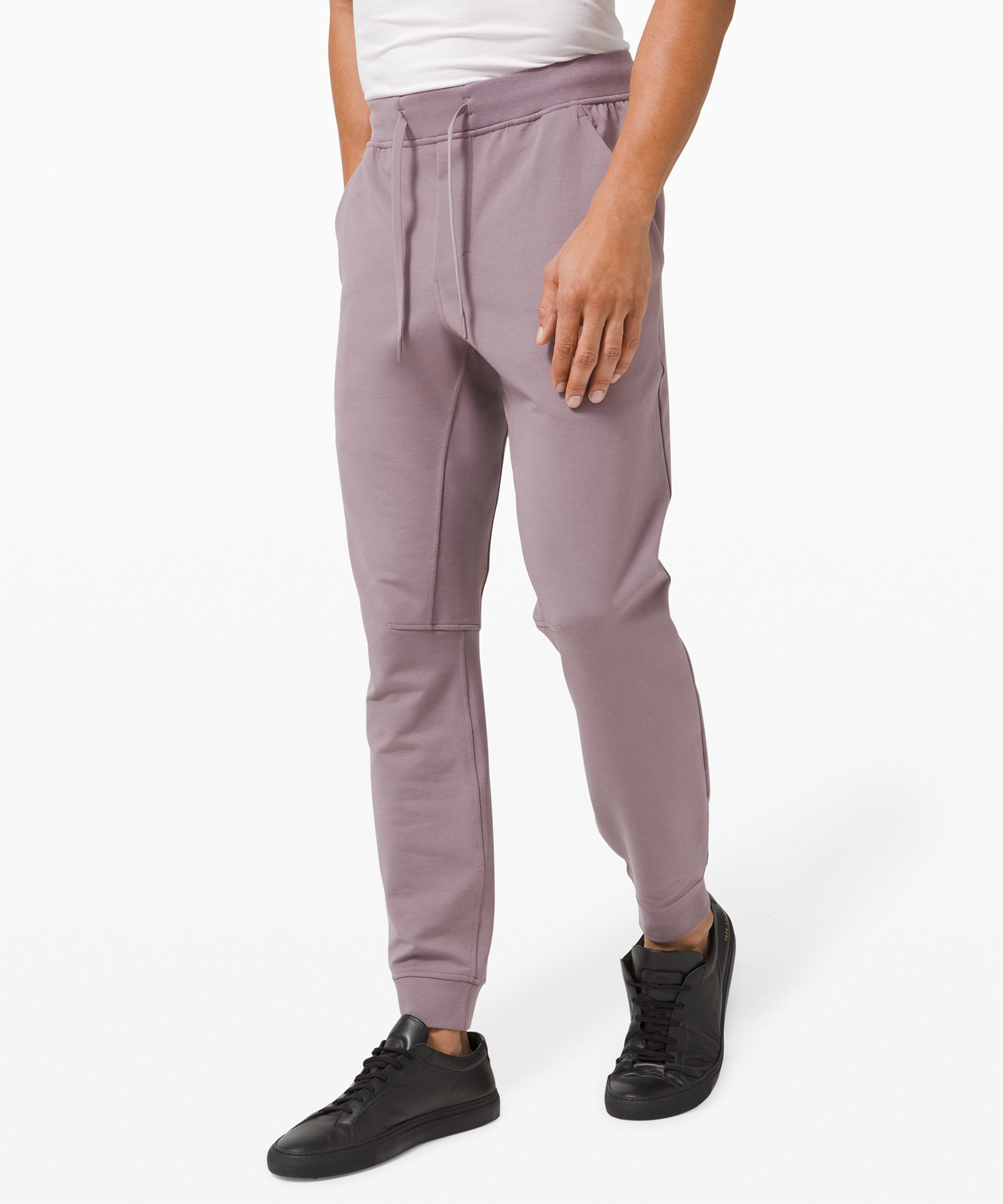 These joggers are made with  breathable, four-way stretch  French Terry fabric that keeps  you feeling comfortable from  workout to hang out.