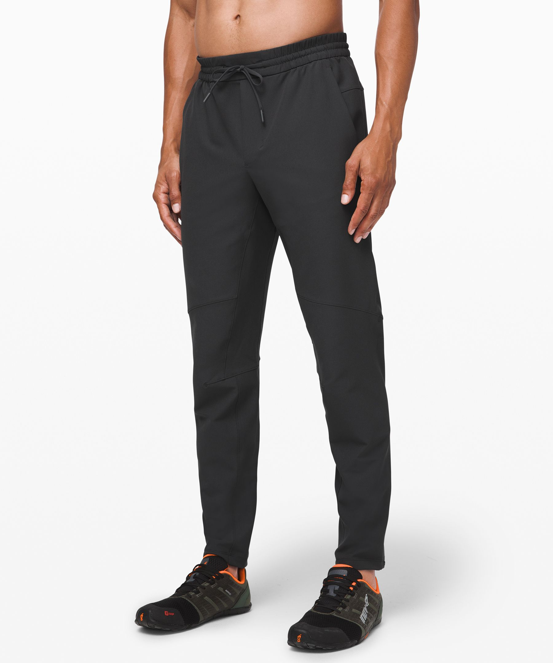 We designed these lightweight,  abrasion-resistant training  pants with sweat in mind.