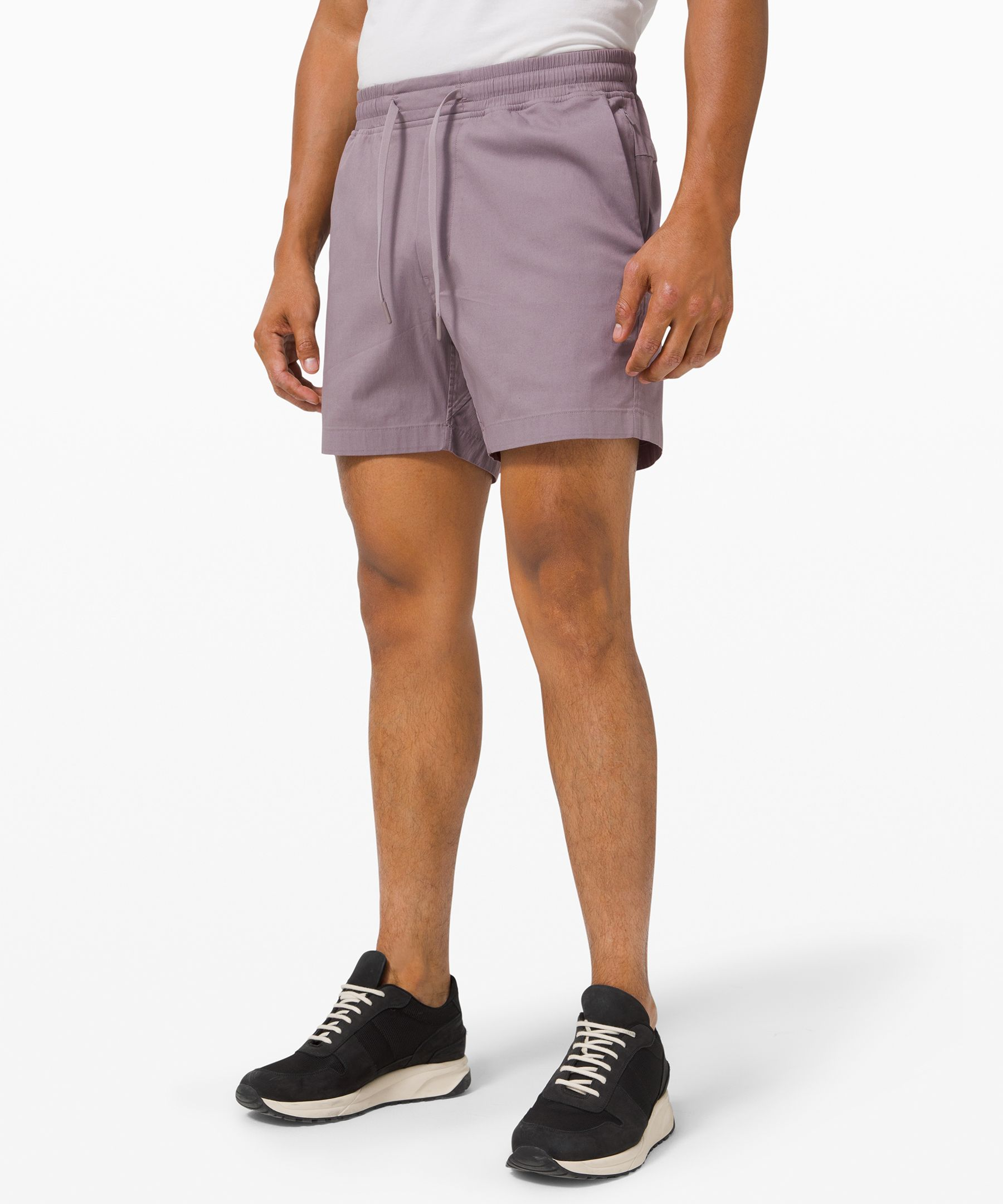 These casual shorts are made  for long-weekend vibes any day  of the week.