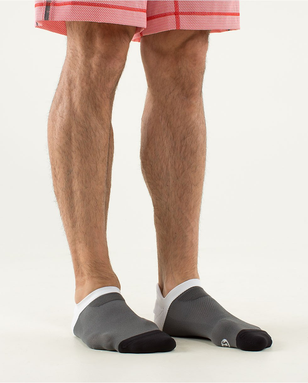 Mens Ultimate No Show Run Sock