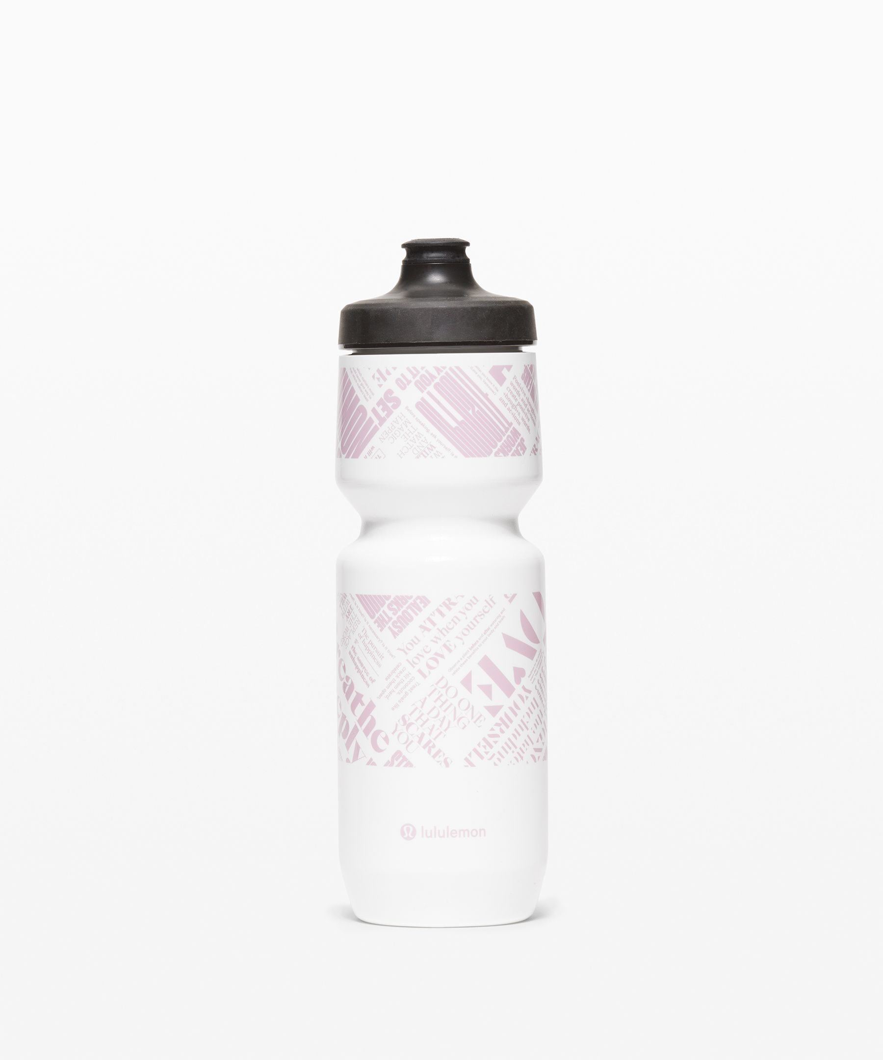 This squeezable bottle was  designed for high speeds, high  tension, and easy-access  hydration.