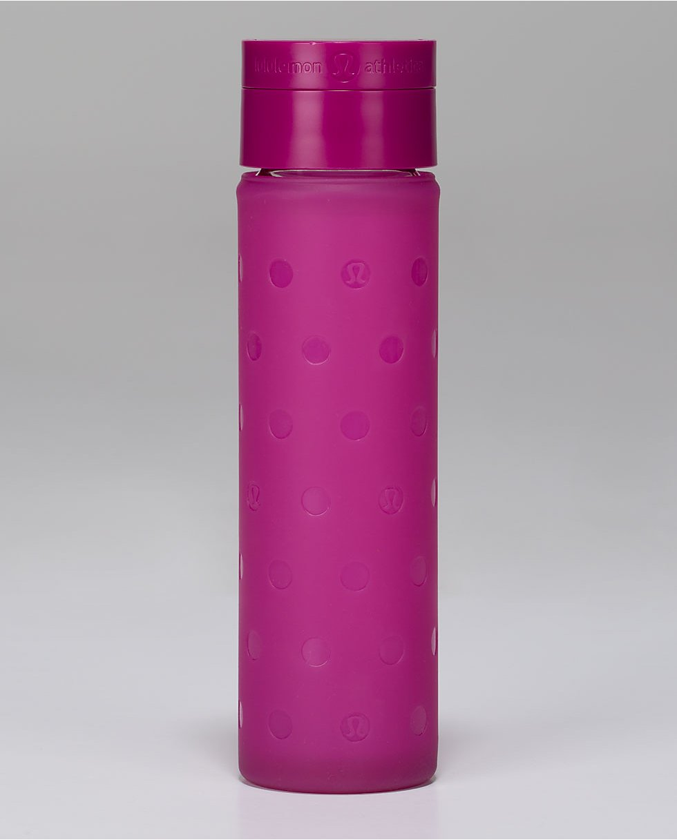 Pure Focus Glass Waterbottle