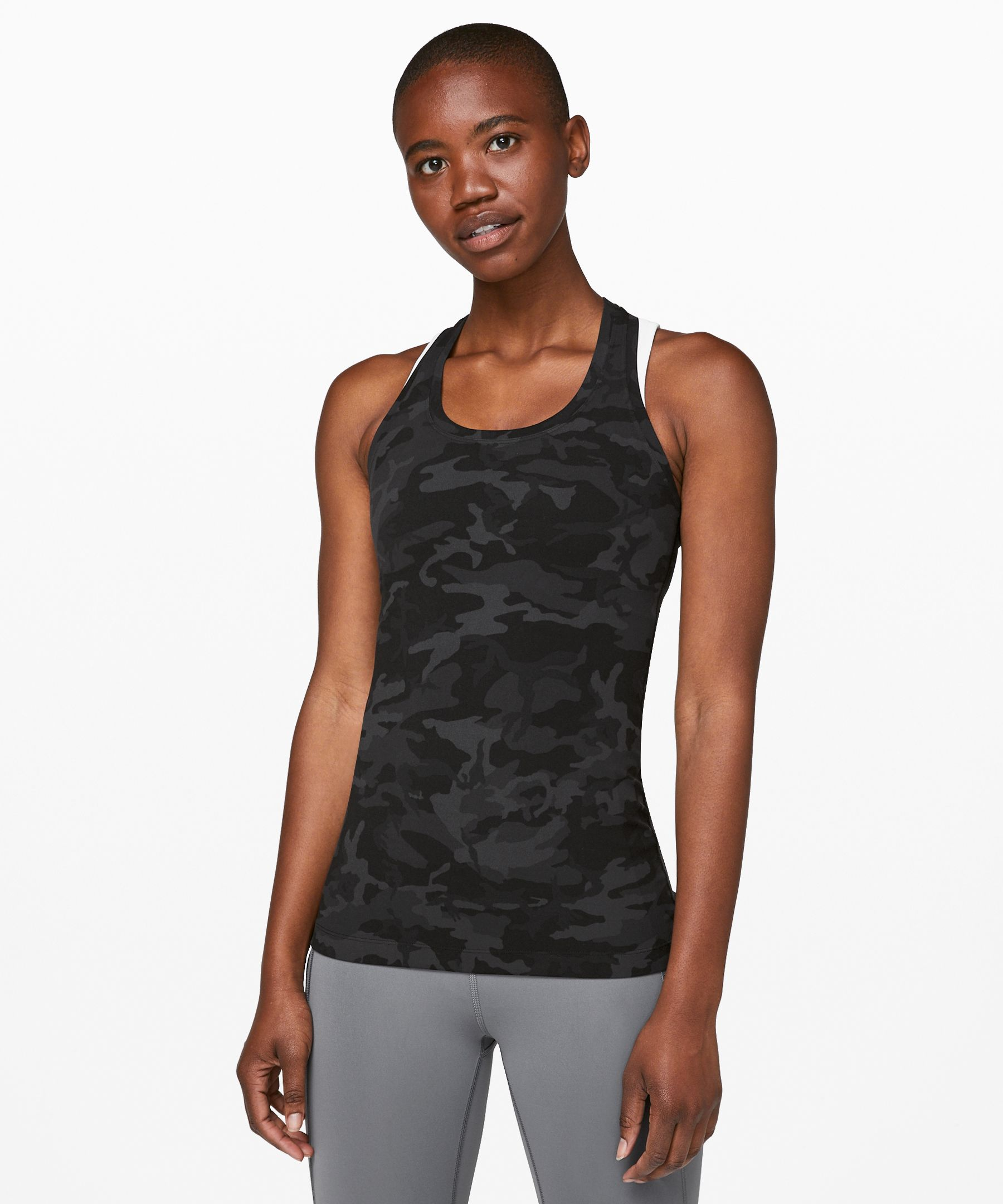 Flow through yoga in this  super-soft version of our  classic racerback tank.
