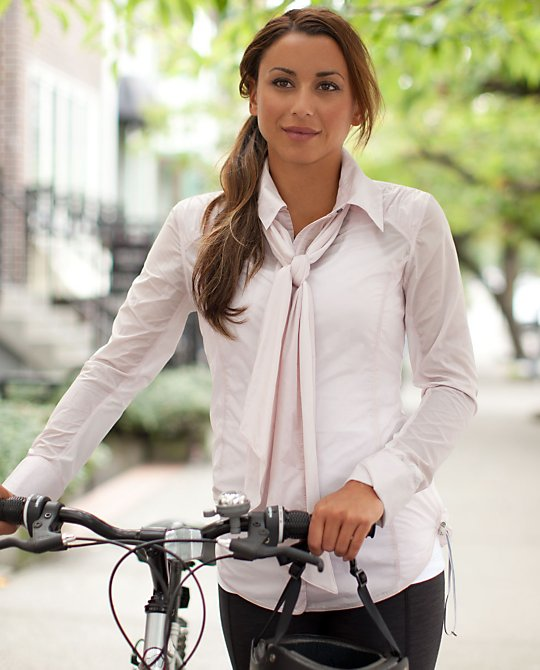 Pedal Power Wind Shirt white