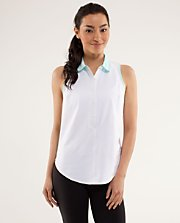 Hot Hitter Sleeveless Polo