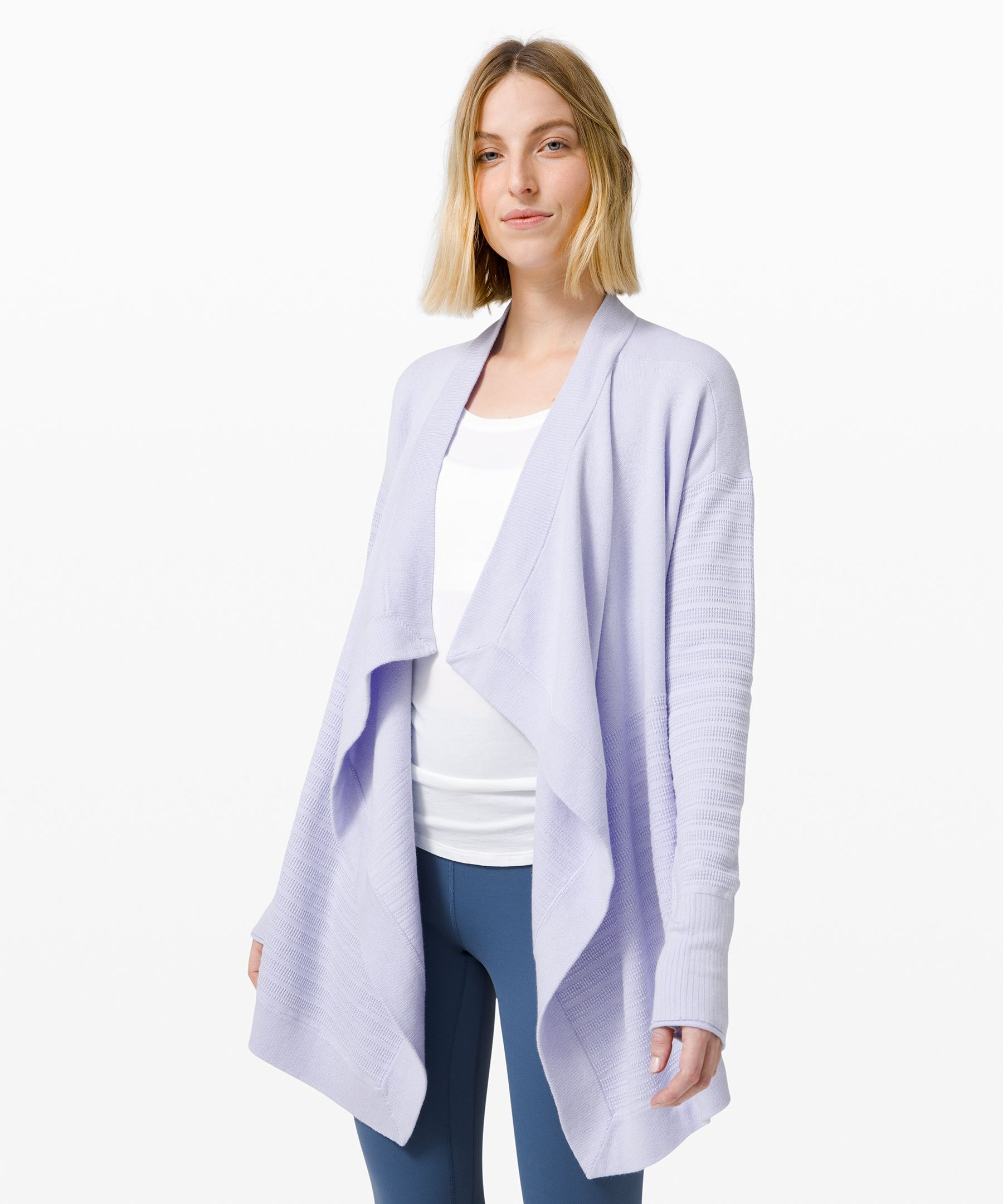 Travel in first-class comfort  in this naturally breathable  and incredibly soft wrap. Sit  back, relax, and (fingers  crossed) snooze until you land.