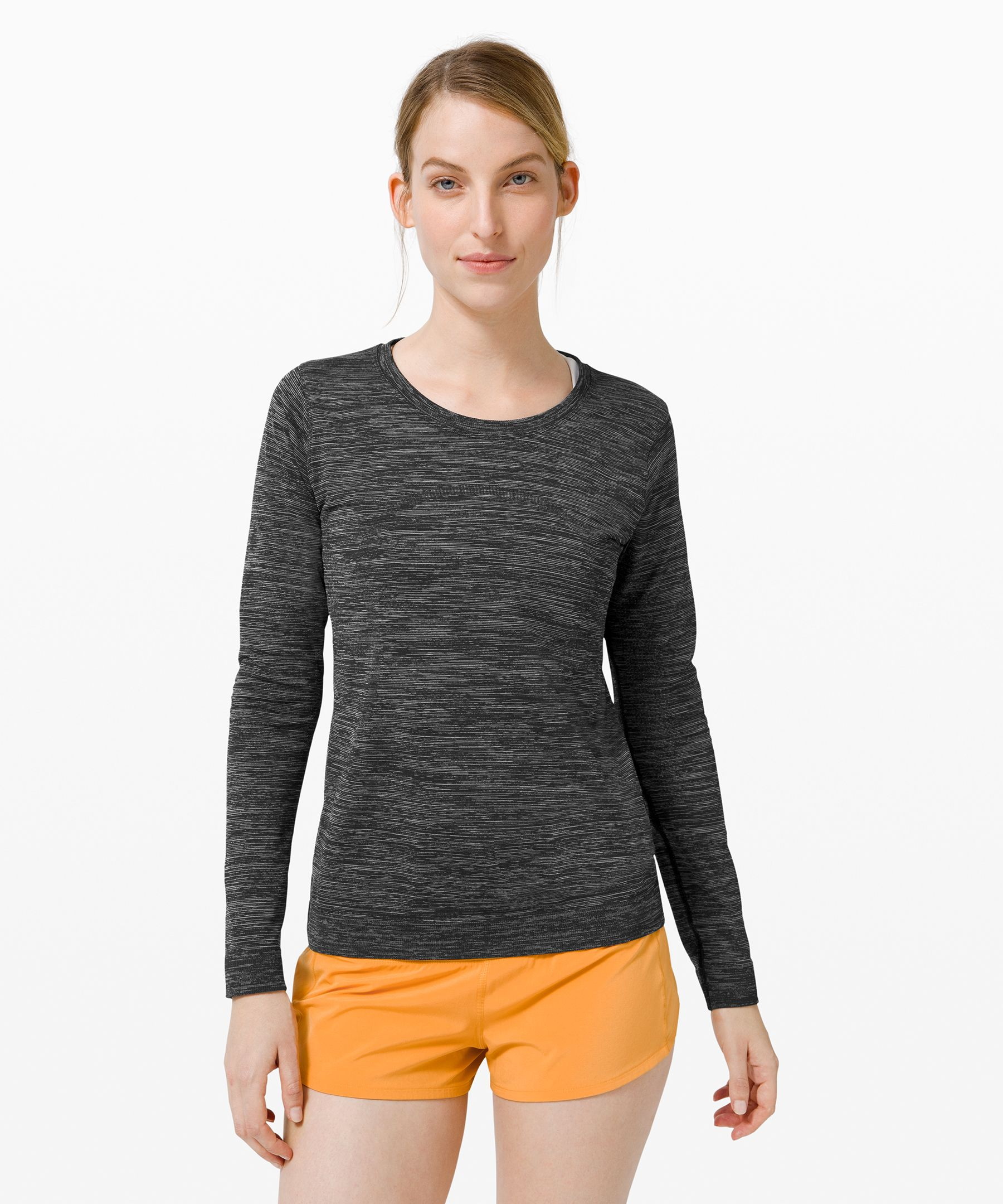 Whether you\\\'re running or  training, this anti-stink long  sleeve gives you the  lightweight, breathable  coverage you need.