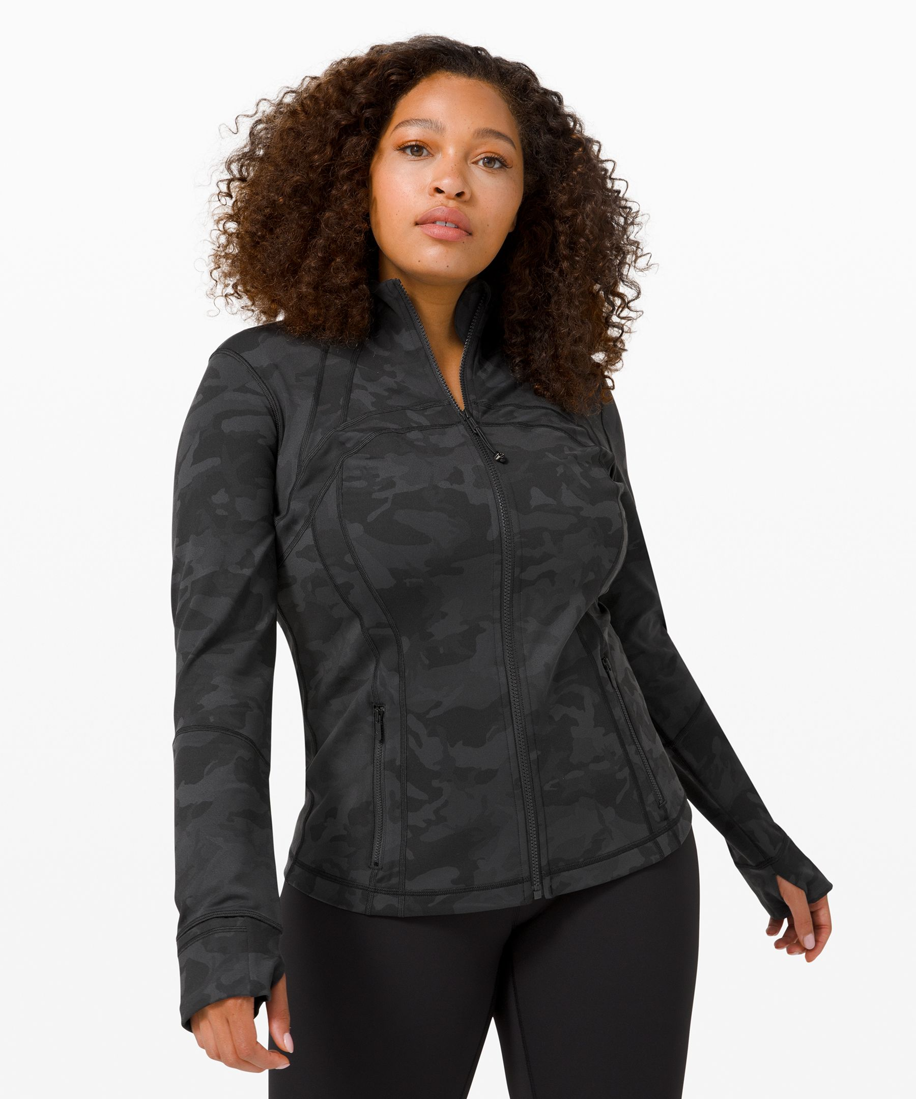 Whether you\'re up for  adventure or ready for down  time, feel empowered in this  lightweight, technical jacket  that contours your body for a  perfect, do-anything fit.
