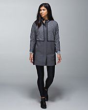 Cocoon Car Coat