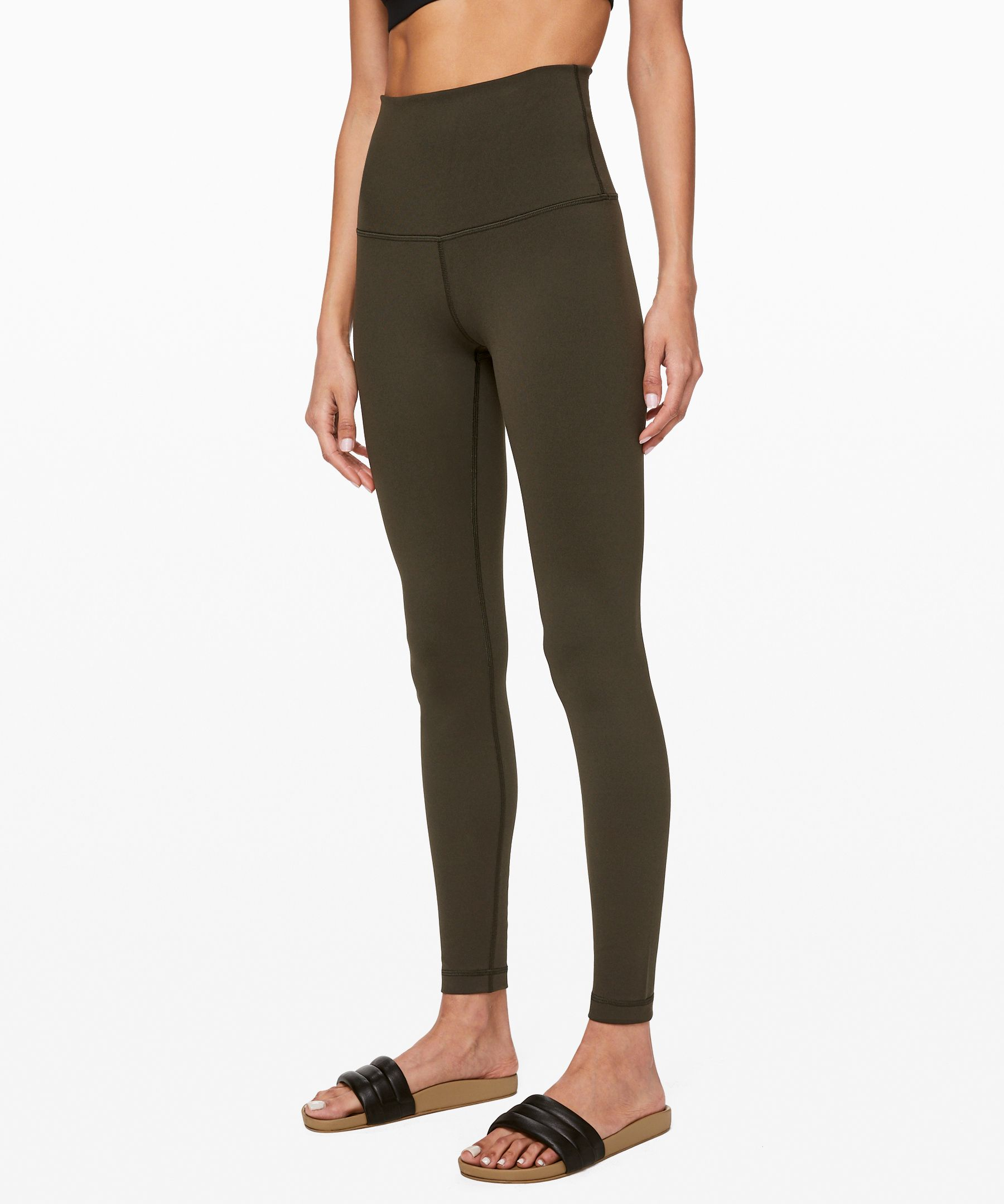These no-fuss, versatile pants  were designed to fit like a  second skin, perfect for yoga  or the gym.