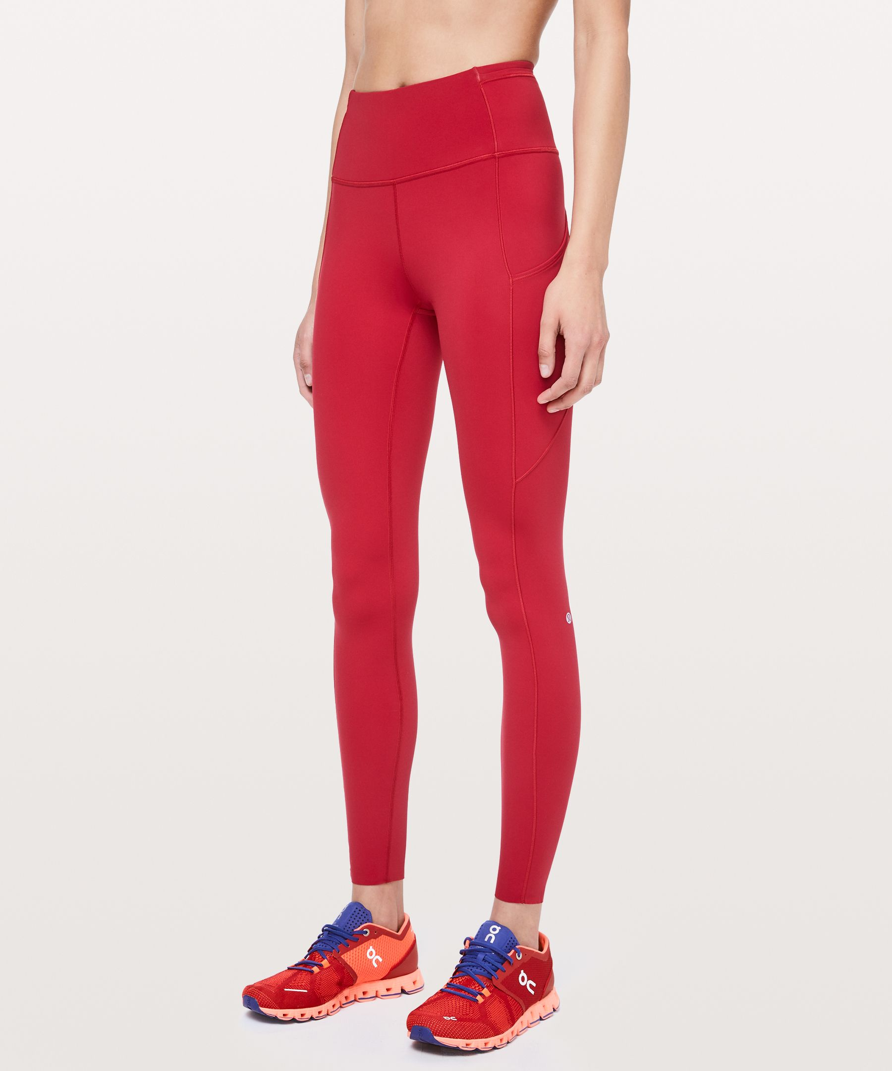 Feel as fast as you do free in  these barely-there feeling  tights that won\\\'t distract you  from picking up the pace.  Nulux™ fabric offers near  weightless coverage for a  seriously smooth stride.