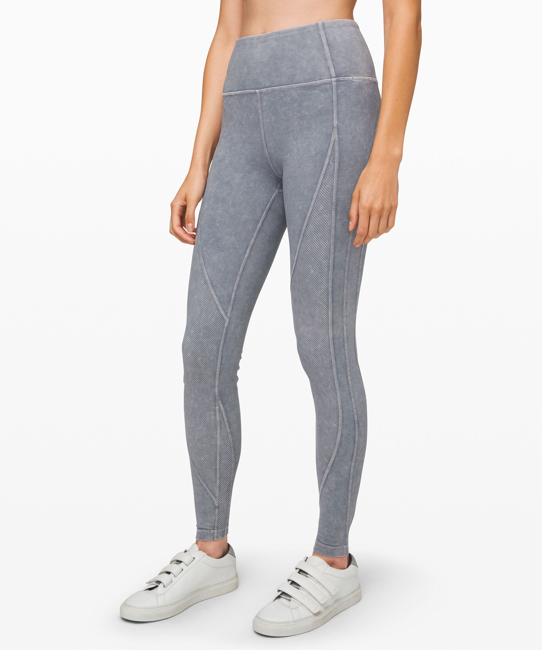 Wunder Under High-Rise Tight *Snow Washed Ribbed 28