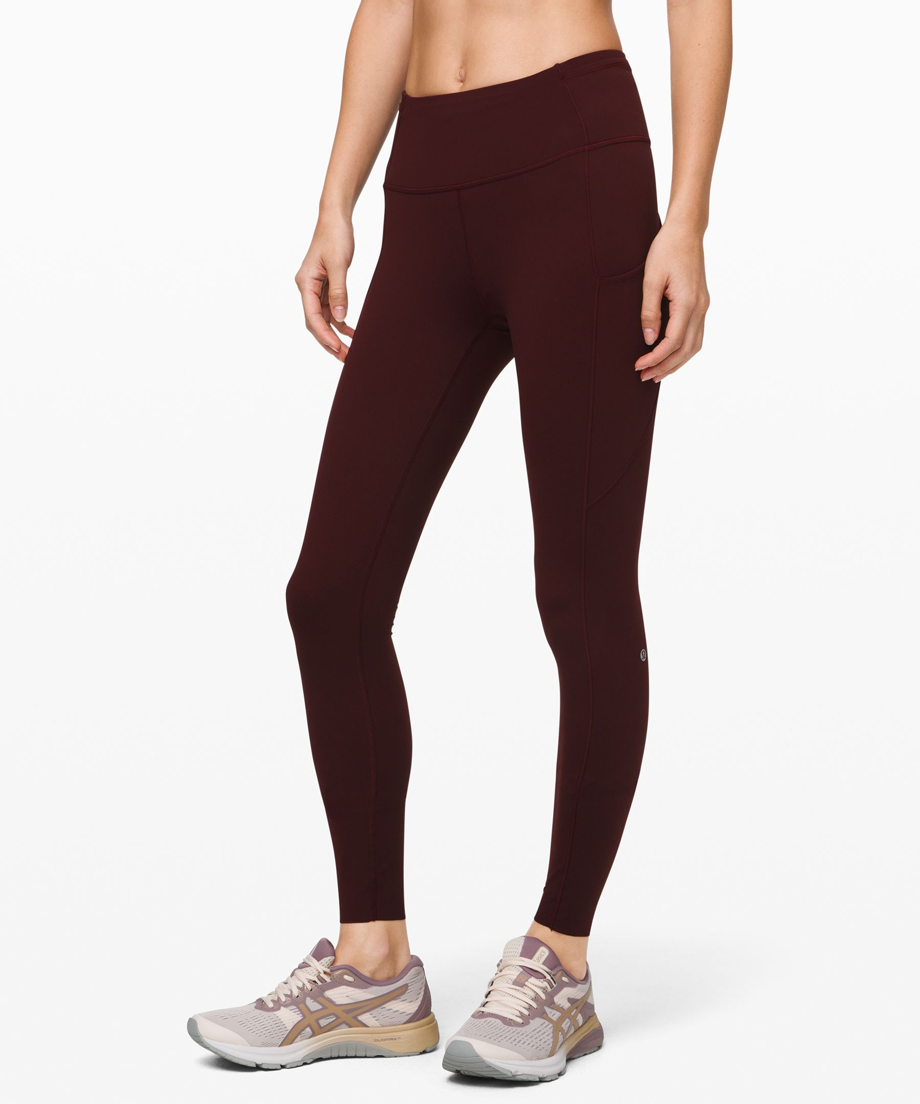 Feel fast and free in these  barely-there feeling tights  that won\\\'t distract you from  picking up the pace. Nulux™  fabric offers near weightless  coverage for a seriously  smooth stride.