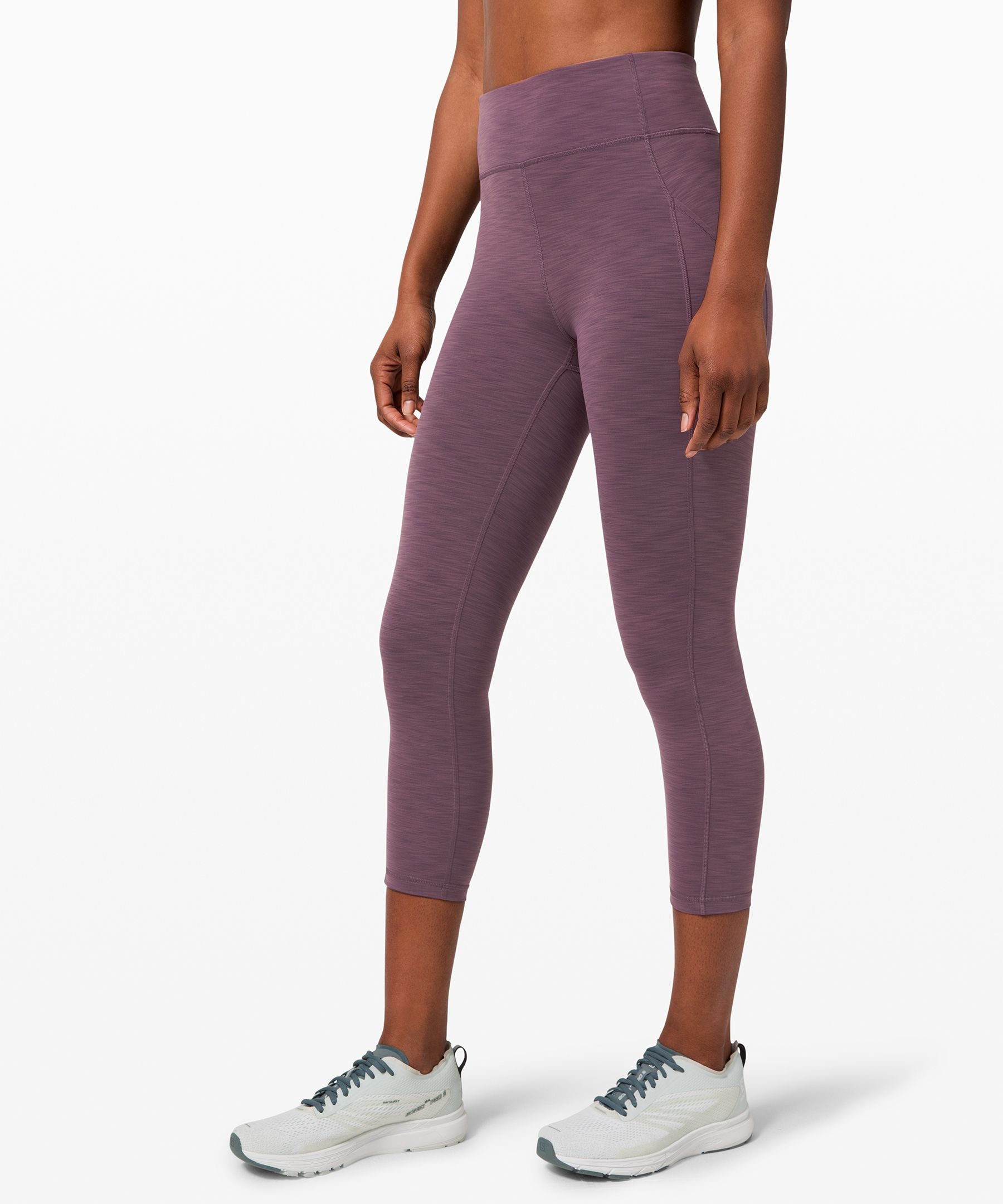 Power through hot, intense  sweat sessions in the  Invigorate collection. These  crops feature side pockets and  are made from  ultra-breathable,  cool-to-the-touch Everlux™  fabric that wicks sweat so you  can keep your mind on your  movement.