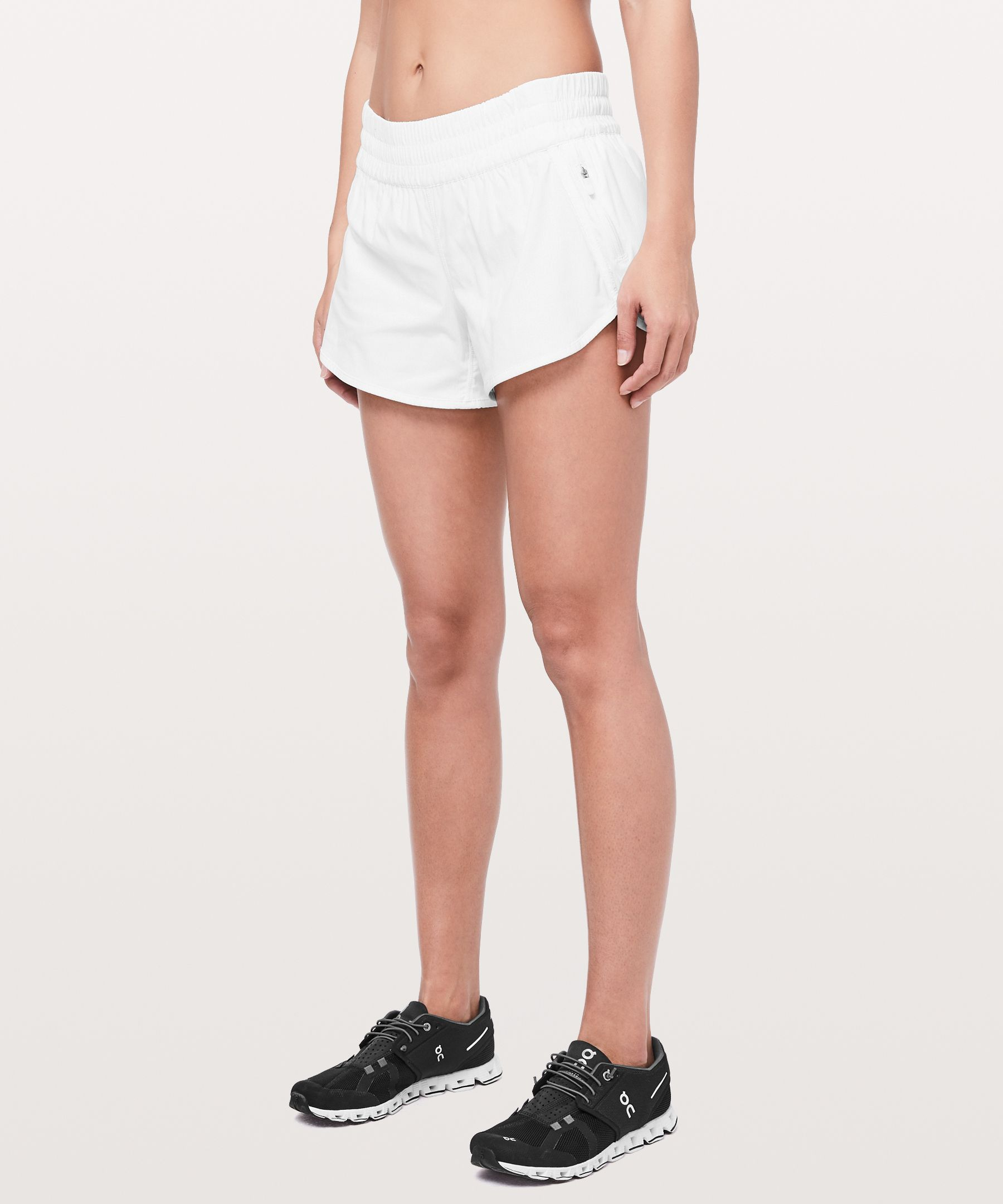 Run for the hills in these  roomy run shorts. We revised  the design lines, but kept the  same fit and fabric that you  already love.  Made with Swift fabric that\\\'s sweat-wicking  and two-way stretch.