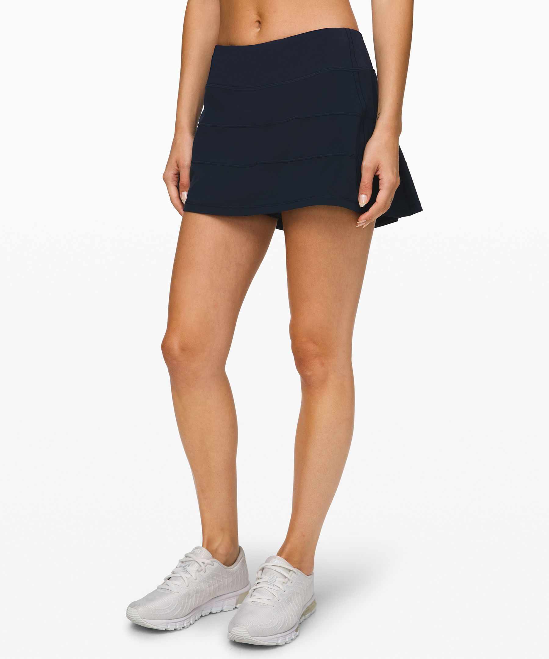 From the court to the trails,  keep necessities close in this  skirt with built-in storage.
