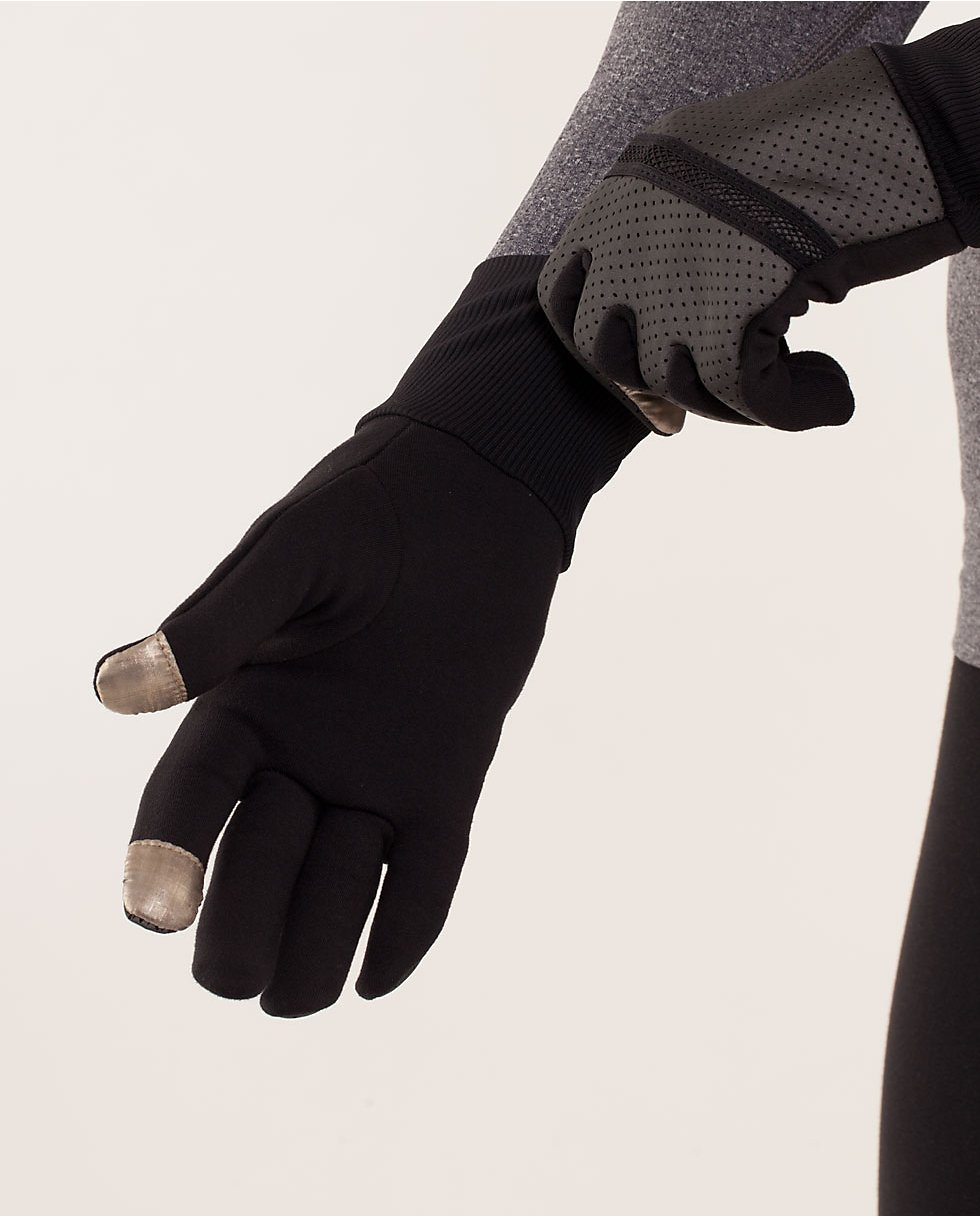 Reflective Brisk Run Gloves