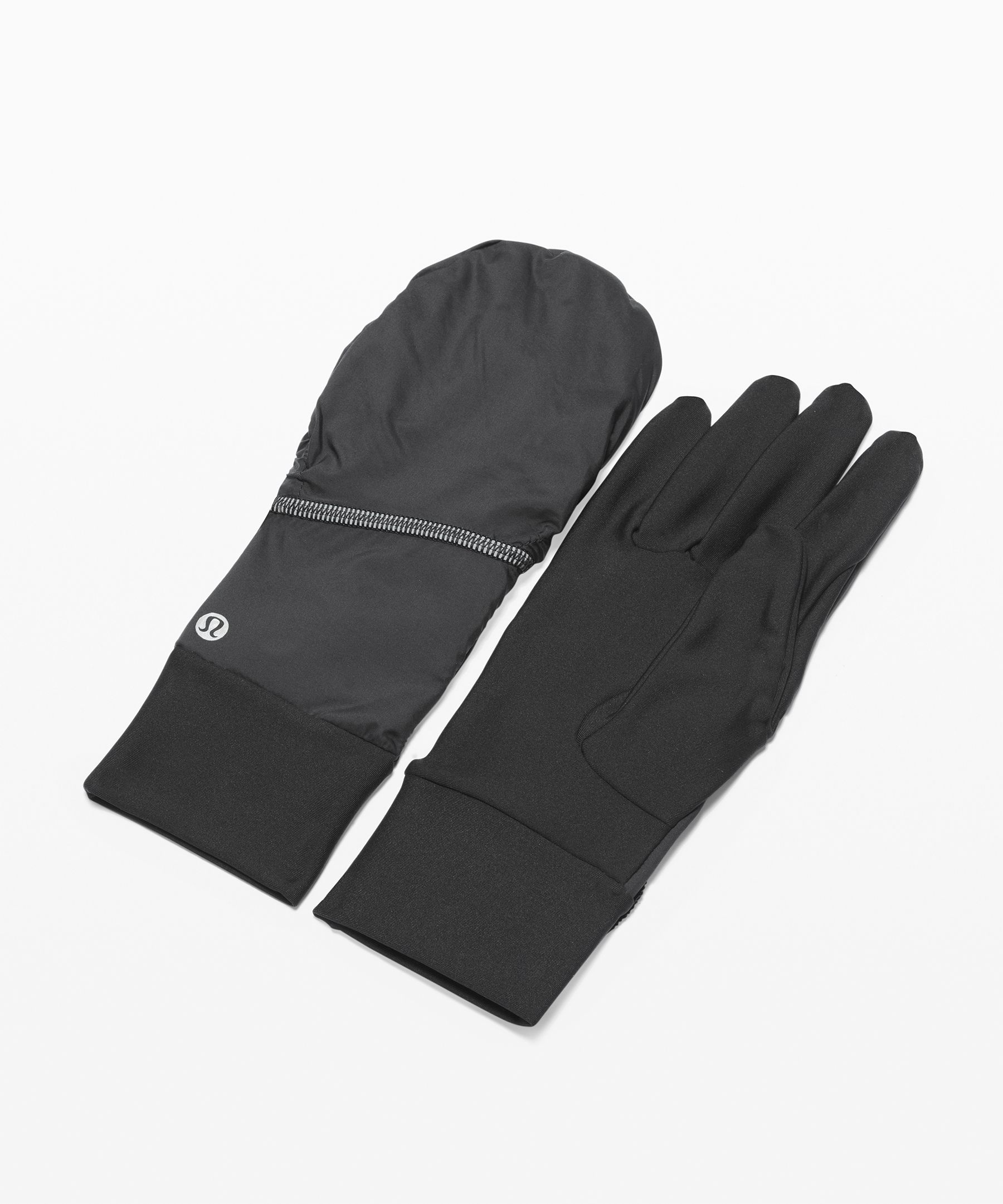 We designed these versatile  gloves with a fold-top hood to  save your hands from the cold.