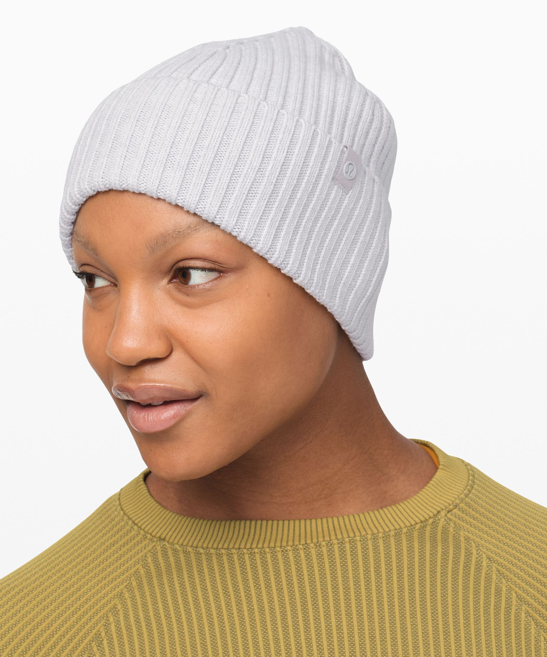 Top off your look with this  beanie that will keep you  feeling warm no matter where  your adventures take you.