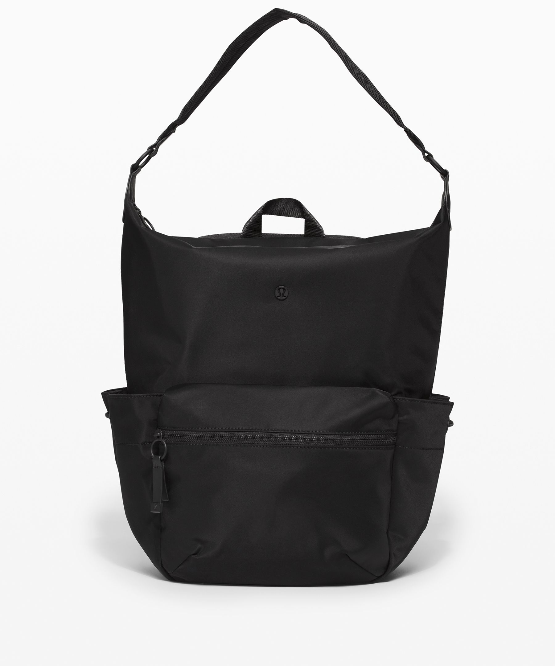 This convertible backpack tote  is your new secret weapon for  getting all of your homework  off campus and back in one  piece.