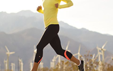woman running - select to view luxtreme