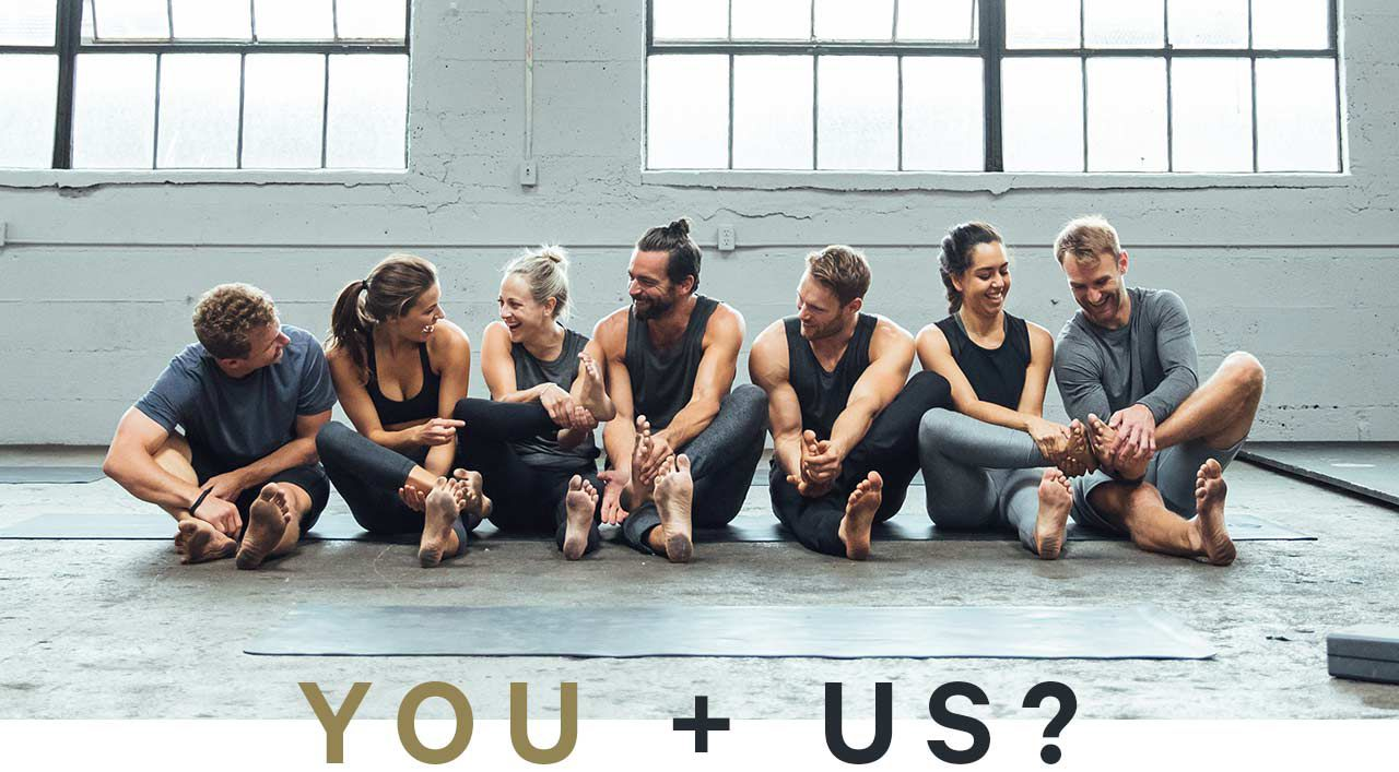 you + us?