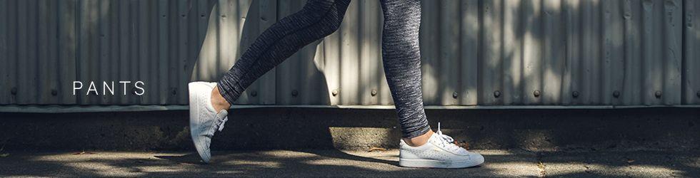 yoga pants and running tights