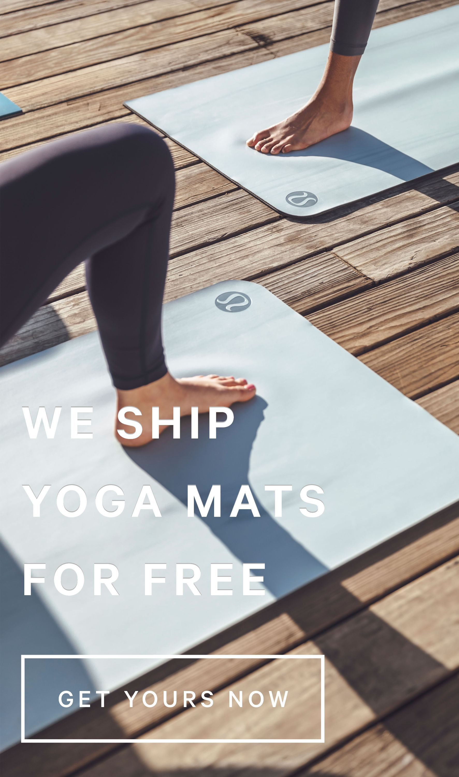 Free Shipping On All Yoga Mats