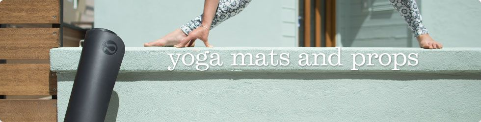 women's yoga mats and props