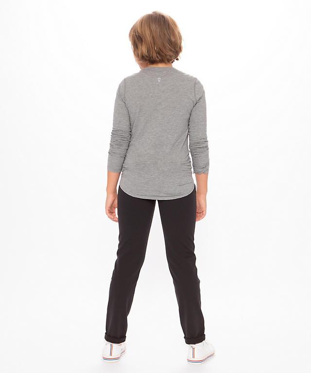 249ca62e76 ... Heathered Core Light Grey Calm To Energy Long Sleeve - Girls ...