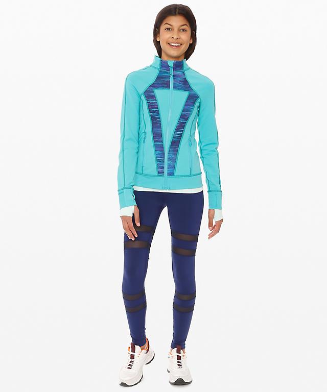d5e5a68014 Blue Tropics Wild Woods Blue Tropics Multi Cosmic Nova Perfect Your  Practice Jacket ...