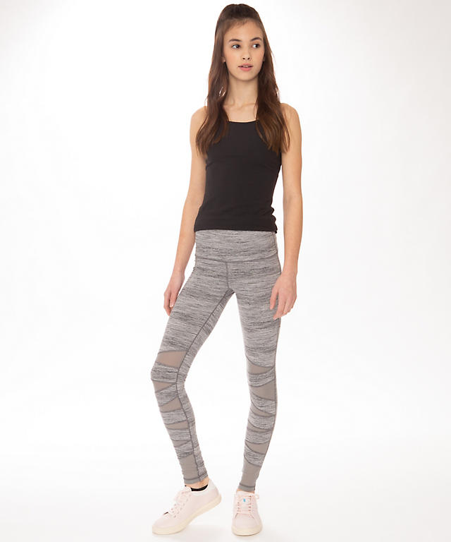 1c1ee2b083 Rhythmic Tight*High Low Tech Mesh - Girls | Girls' Pants | lululemon ...