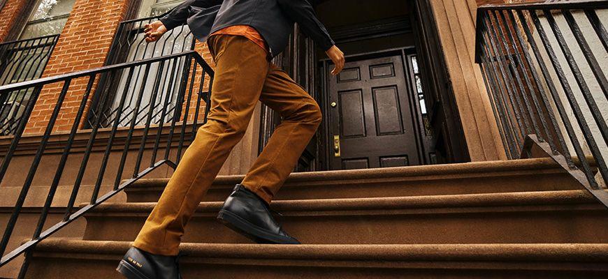 가을의 색을 입은 데일리 팬츠