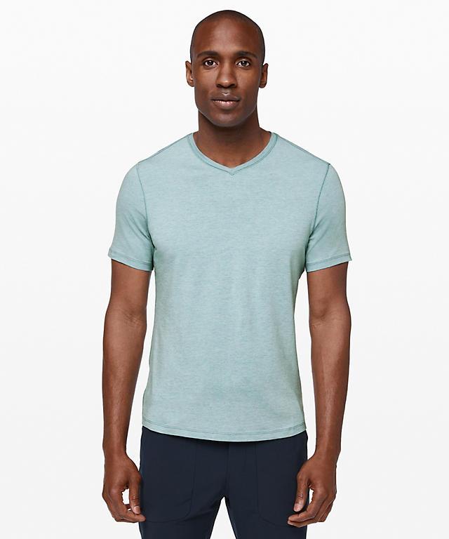 26fd2215 5 Year Basic V *Updated Fit | Men's Short Sleeve Tops | lululemon ...
