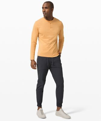 Manches longues Henley 5Year Basic