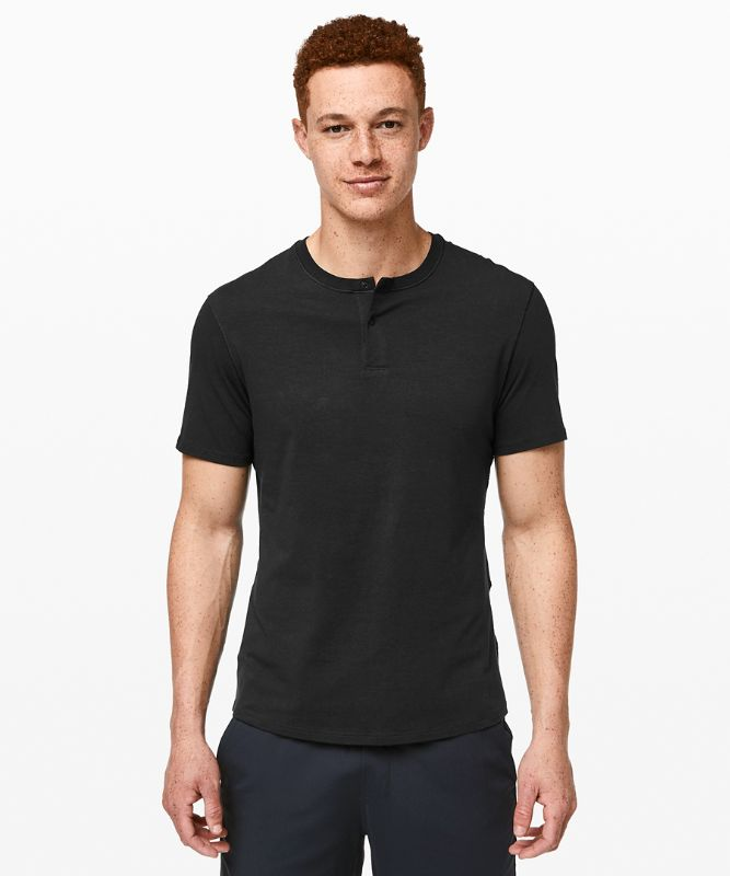 5 Year Basic Kurzarm-Shirt Henley