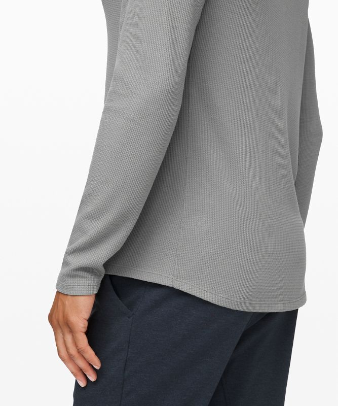 Haut henley Shift Stitch