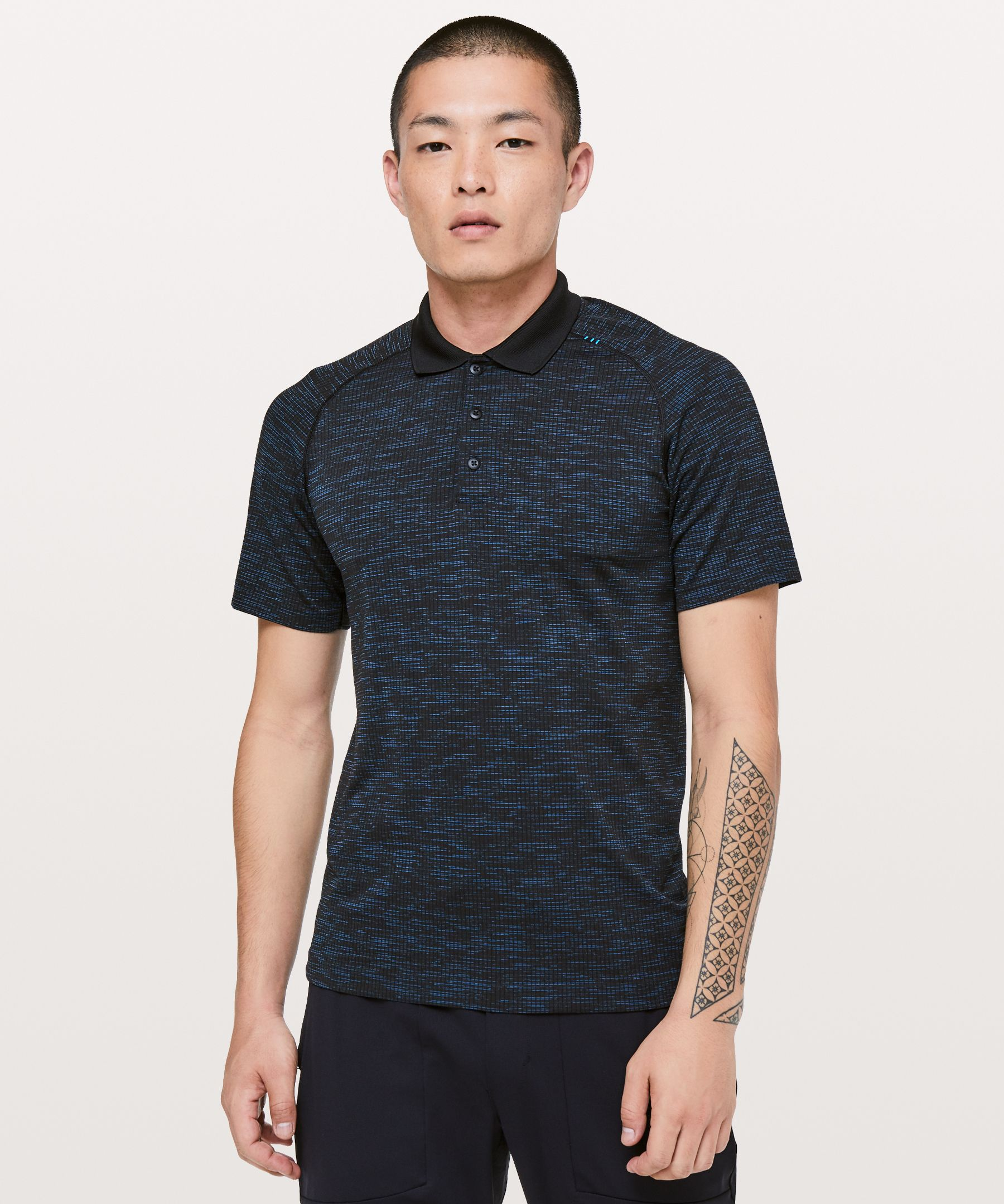 black and gold polo shirt mens purple swim shorts
