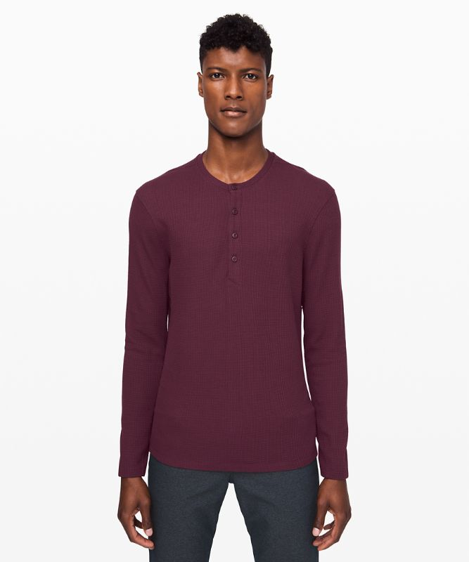 Shift Stitch Henley