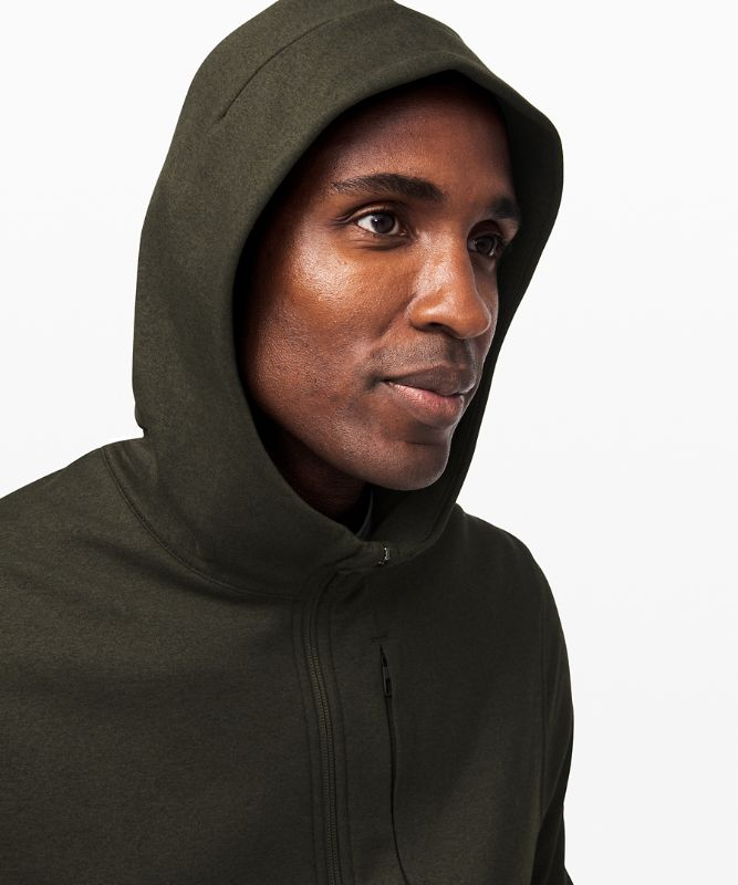 City Sweat Zip Hoodie *Thermo