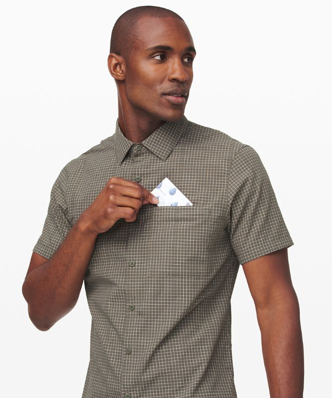 Grid Light Short Sleeve Shirt