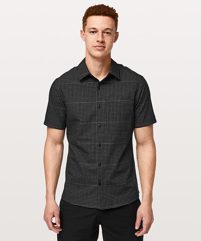 836d8ed36e7312 Grid Light Short Sleeve Shirt | Men's Long Sleeve Tops | lululemon ...