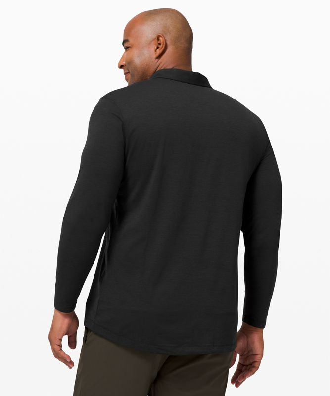 Evolution Long Sleeve Polo