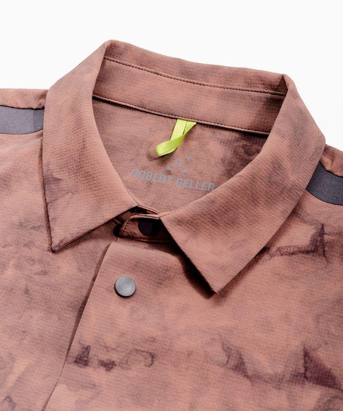Take The Moment Langarm-Shirt mit Kragen
