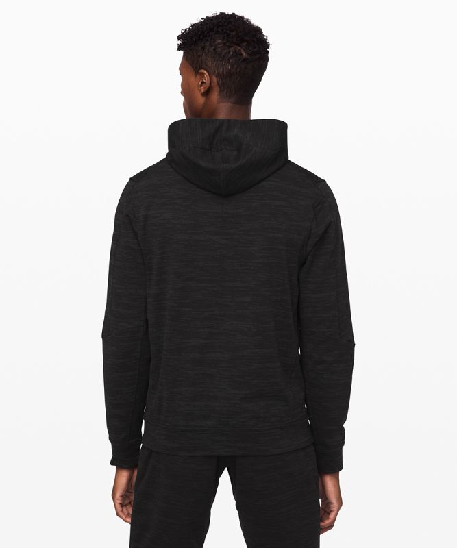 City Sweat Zip Hoodie*Jacquard