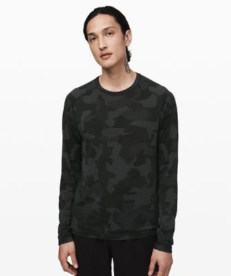Metal Vent Tech Long Sleeve *Geo Camo