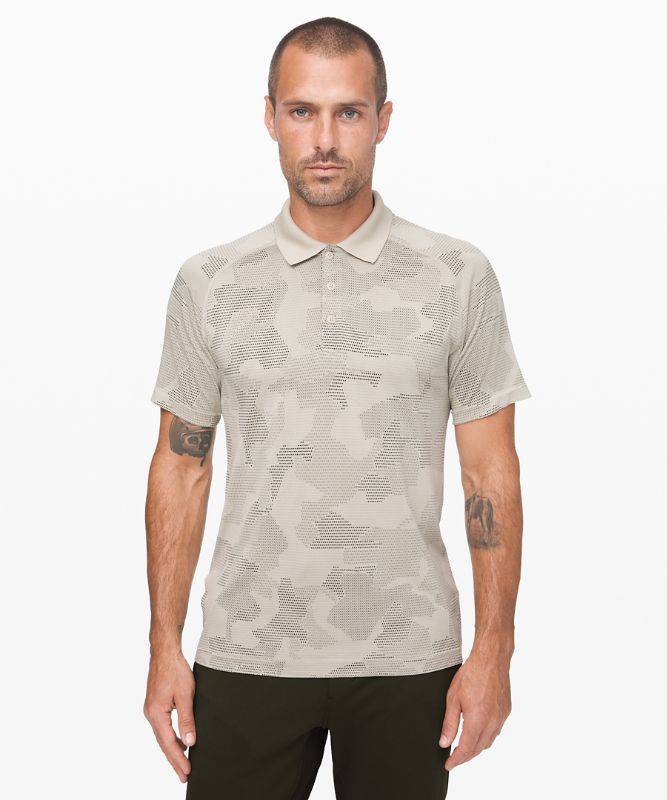 Metal Vent Tech Polo *Geo Camo