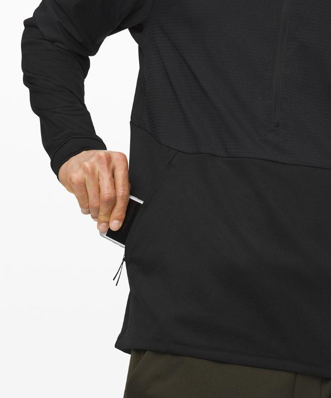 Sweat à capuche demi-zippé d'entraînement Mobility
